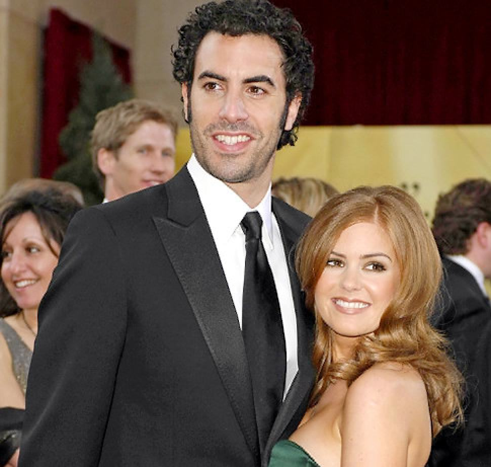 Sacha Baron Cohen And His Wife Have Been Very Generous This Christmas GermanaEverett Collection