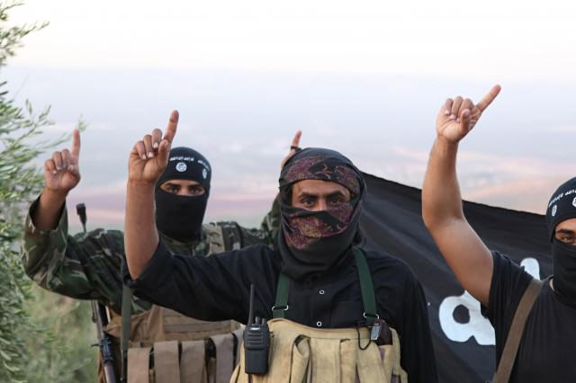 Things That Will Probably Definitely Happen This Year Isis soldiers in Syria 016 640x426