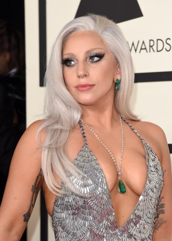 Seven Celebrities You Probably Didnt Know Battled Drug And Alcohol Addictions Lady Gaga arrives at 2015 Grammy Awards 2