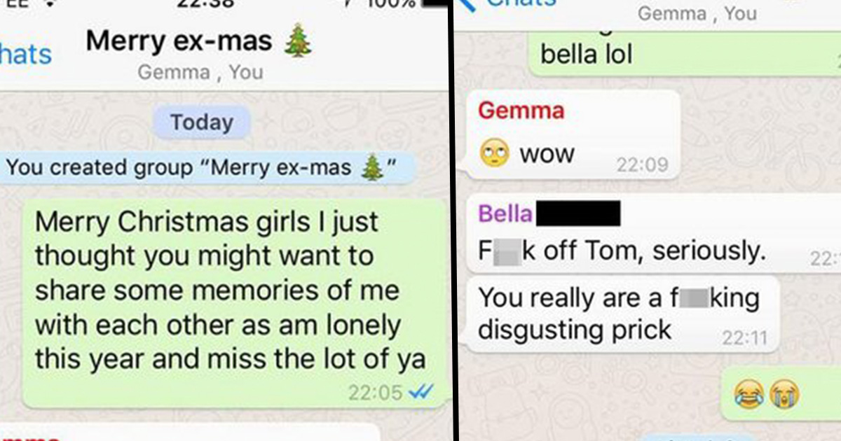 Guy Makes WhatsApp Group With Ex-Girlfriends To Wish Them A