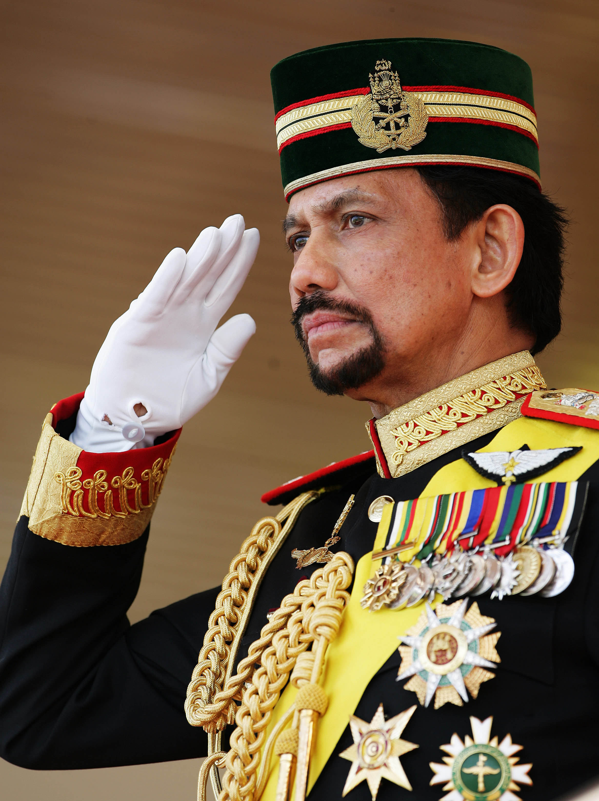 BRUNEI SULTAN 60TH
