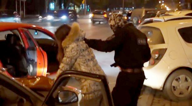 Police Stage Terrorist Attack For Weirdest Wedding Proposal Ever PAY A group of tough Russian riot 2 1