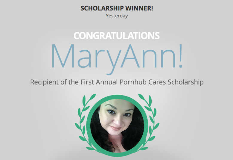 Pornhub Gave Away A $25k Scholarship, And The Winner Is Fairly Surprising Pornhub Cares