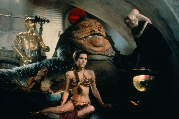 Five Aliens From Star Wars That Basically Exist In Real Life Princess Leia plays captive to Jabba