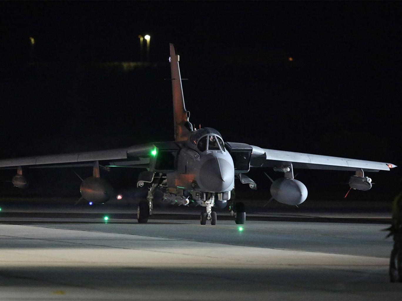 RAF Launches First Airstrikes Against IS In Syria Hours After Vote Is Passed RAF Tornado Getty 0