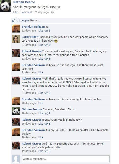 Lad Spends Days Masterfully Trolling His Moronic Mate On Facebook RUpPdLj