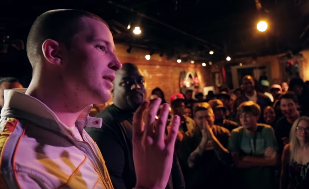 Rapper Pulls Out Fake Gun During Rap Battle, Instantly Regrets It Screen Shot 2015 12 01 at 13.17.40