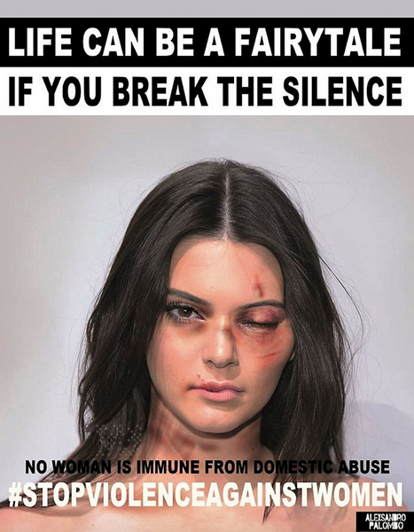 Kardashians Threaten Lawsuit After Controversial Domestic Violence Campaign Goes Viral Screen Shot 2015 12 01 at 22.57.29