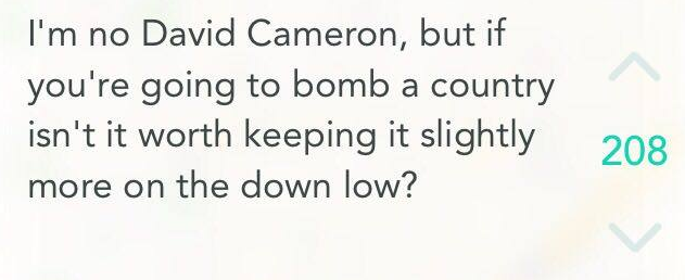 Internet Reacts To British MPs Voting To Bomb Syria Screen Shot 2015 12 03 at 01.09.40