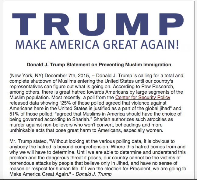 Donald Trump Has Hit A New Low With Anti Muslim Policy Screen Shot 2015 12 07 at 22.47.23