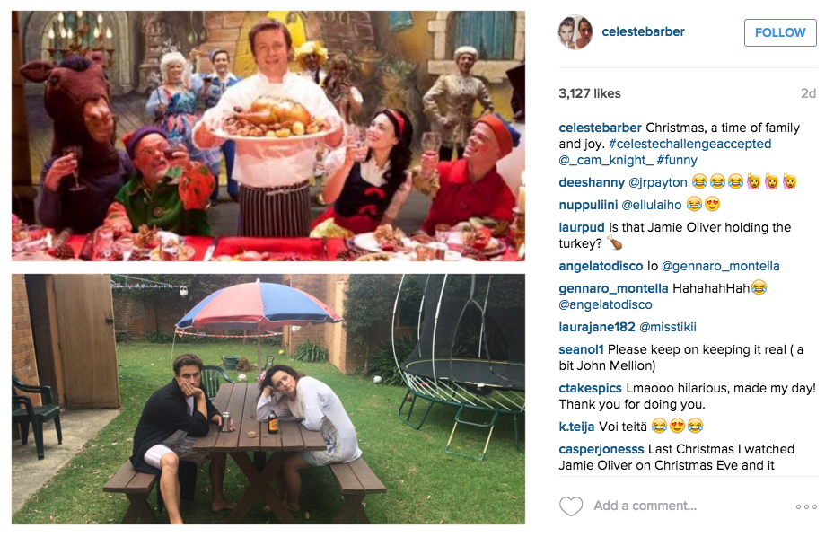 Australian Comedian Back With More Hilarious Instagram Photos Mocking Celebrities Screen Shot 2015 12 14 at 12.24.14