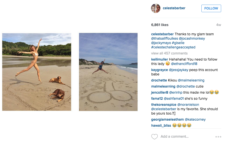 Australian Comedian Back With More Hilarious Instagram Photos Mocking Celebrities Screen Shot 2015 12 14 at 12.25.28