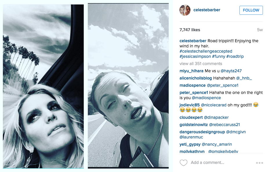 Australian Comedian Back With More Hilarious Instagram Photos Mocking Celebrities Screen Shot 2015 12 14 at 12.26.49 1