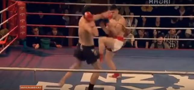 Kickboxer Has Bizarre, Yet Hilarious Response To Being Knocked Clean Out Screen Shot 2015 12 19 at 14.19.04