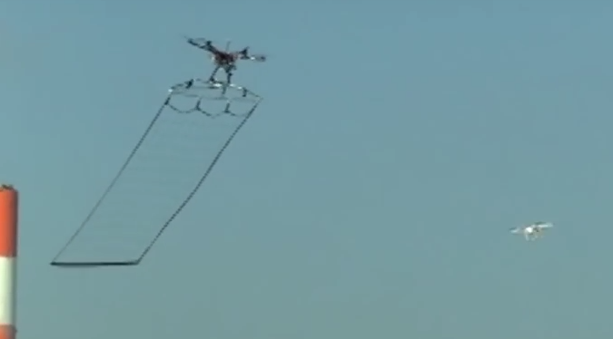 Tokyo Police Are Using Customised Drones To Catch Other Drones Screen Shot 2015 12 23 at 13.59.48