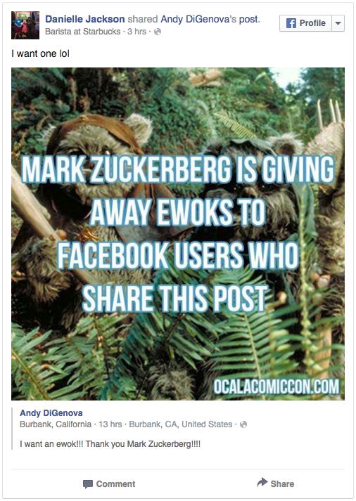Thousands Of Facebook Users Thought Mark Zuckerberg Was Going To Make Them Rich Screen Shot 2015 12 29 at 11.11.01
