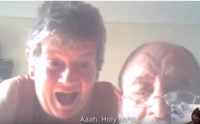 Son Freaks Out Parents During Skype Chat By Jumping Out Of Plane Skydiver