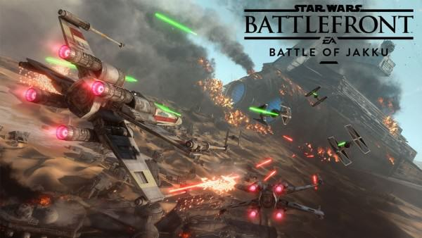 Battlefronts Battle Of Jakku Gameplay Trailer Released As DLC Goes Live Star Wars Battlefront Battle of Jakku 600x338
