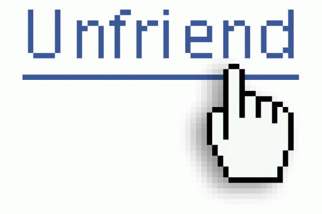 Heres Why People Unfriend You On Facebook, According To Science Unfriend 640x426