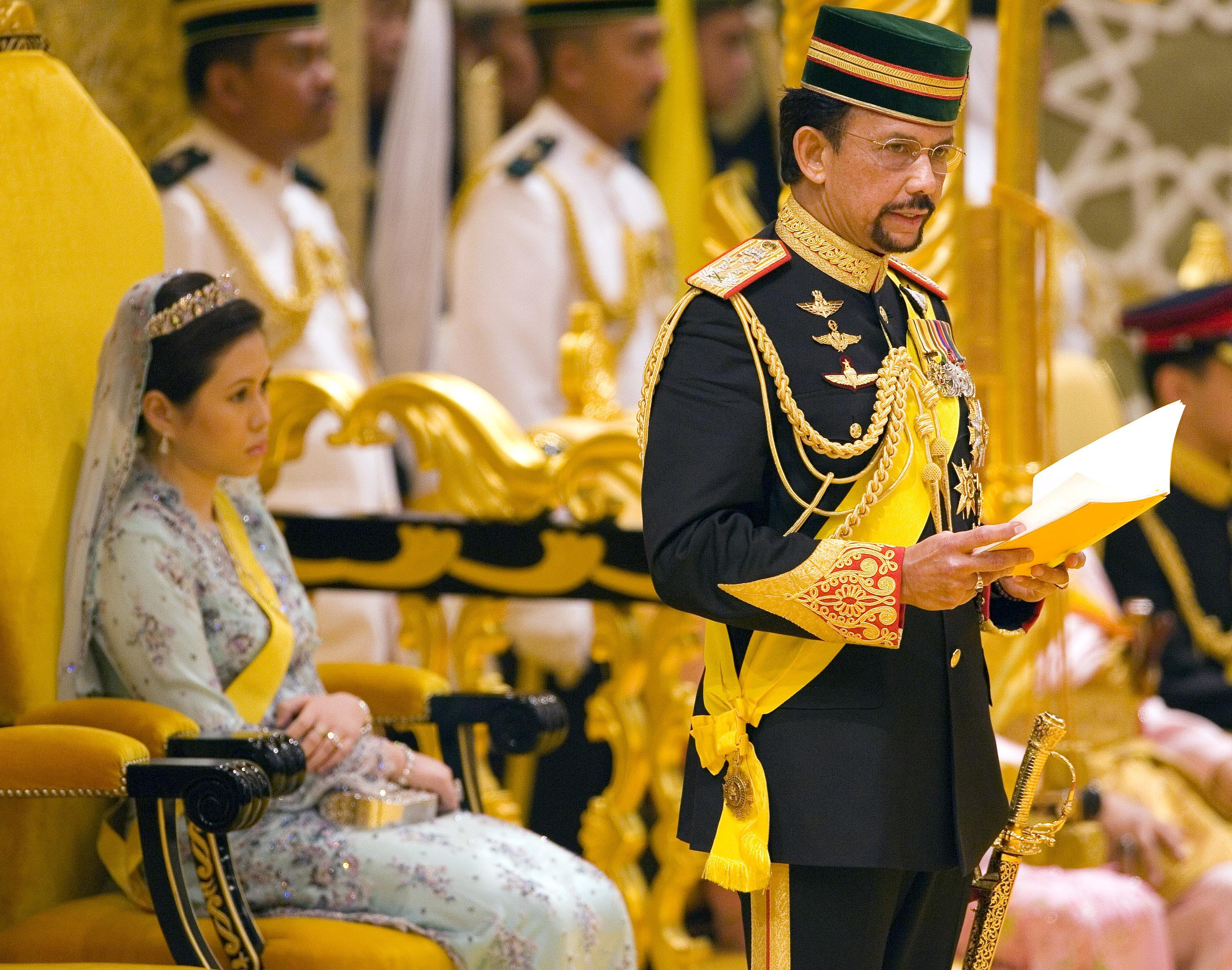 BRUNEI SULTAN'S 60TH