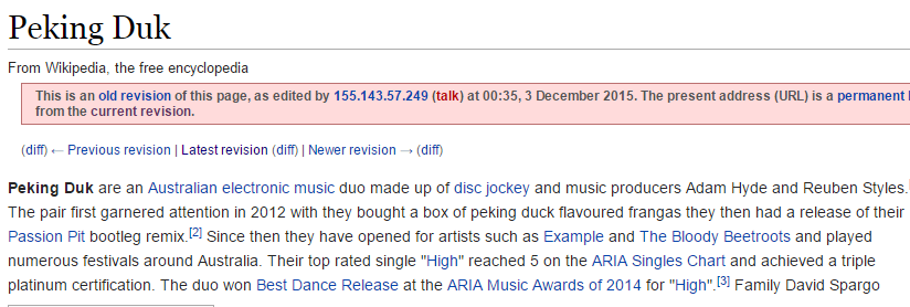 Guy Fools Bands Security Guard To Get Backstage By Editing Wikipedia Page Wikipedia edit