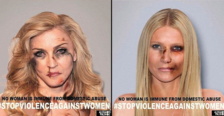 Kardashians Threaten Lawsuit After Controversial Domestic Violence Campaign Goes Viral abuse4