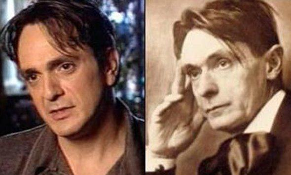 These Pictures Show Putin Isnt The Only Immortal Famous Guy actor hank azaria resembles philosopher rudolf steiner