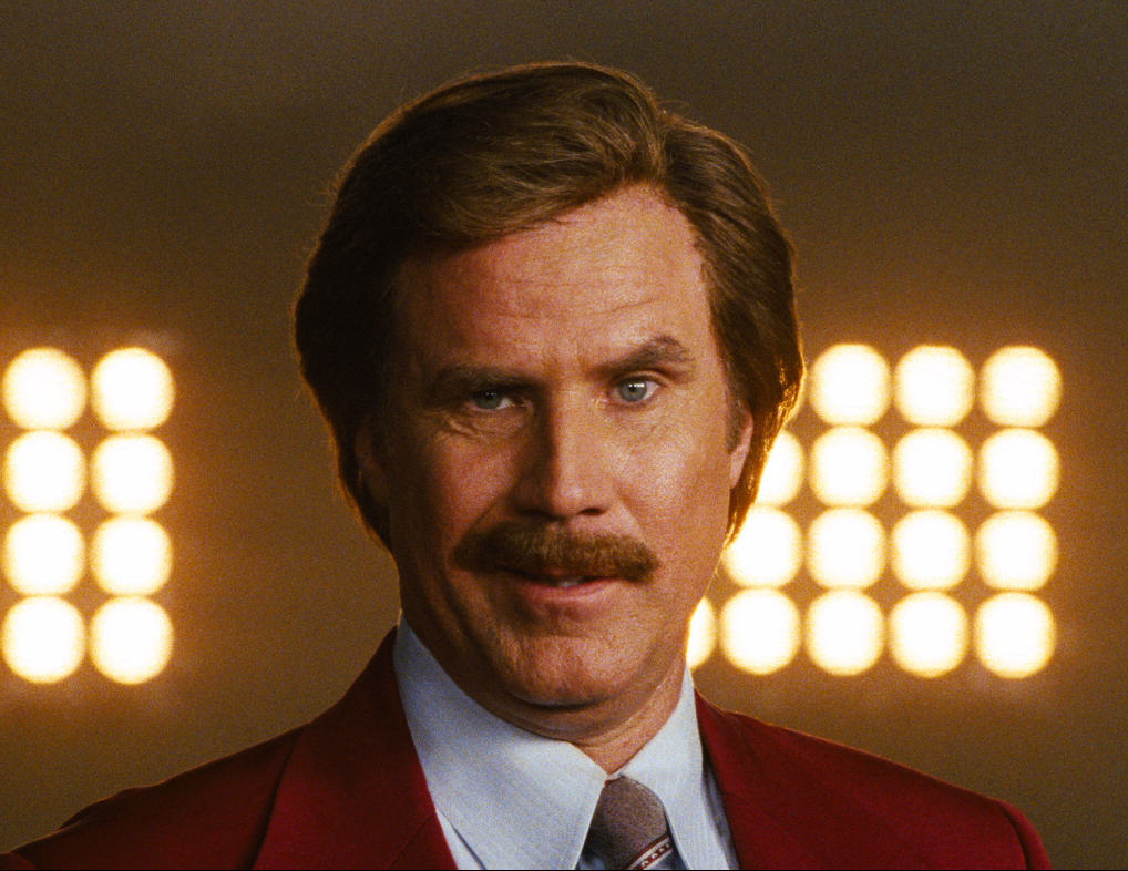 Robin Williams Voted Greatest Comedy Actor Ever anchorman 2 sequel image will ferrell
