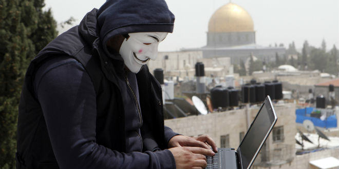 ISIS anonymous-hacker-cyber-temple-mount-computer