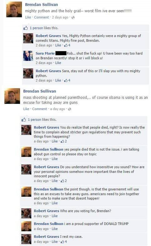 Lad Spends Days Masterfully Trolling His Moronic Mate On Facebook bH254Xx