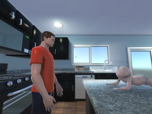 New Video Game Featuring Suicidal Babies Is Weird As Hell baby muder game