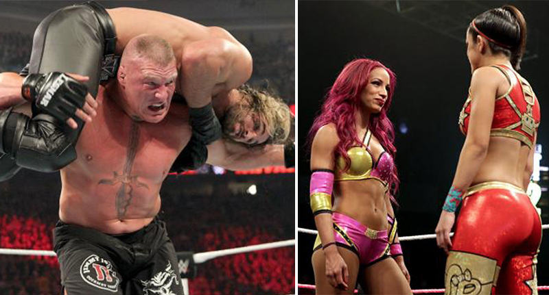The Eight Best Wrestling Matches Of 2015 best matches FB