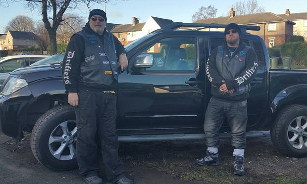 Bikers Are Patrolling In Flood Hit Yorkshire Towns To Scare Off Looters bikers1