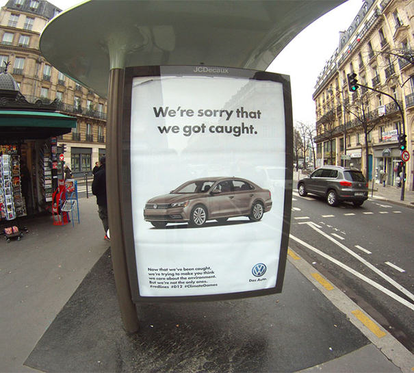 Artists Troll Big Companies With Fake Ads To Protest Climate Summit Sponsorship brandalism 21