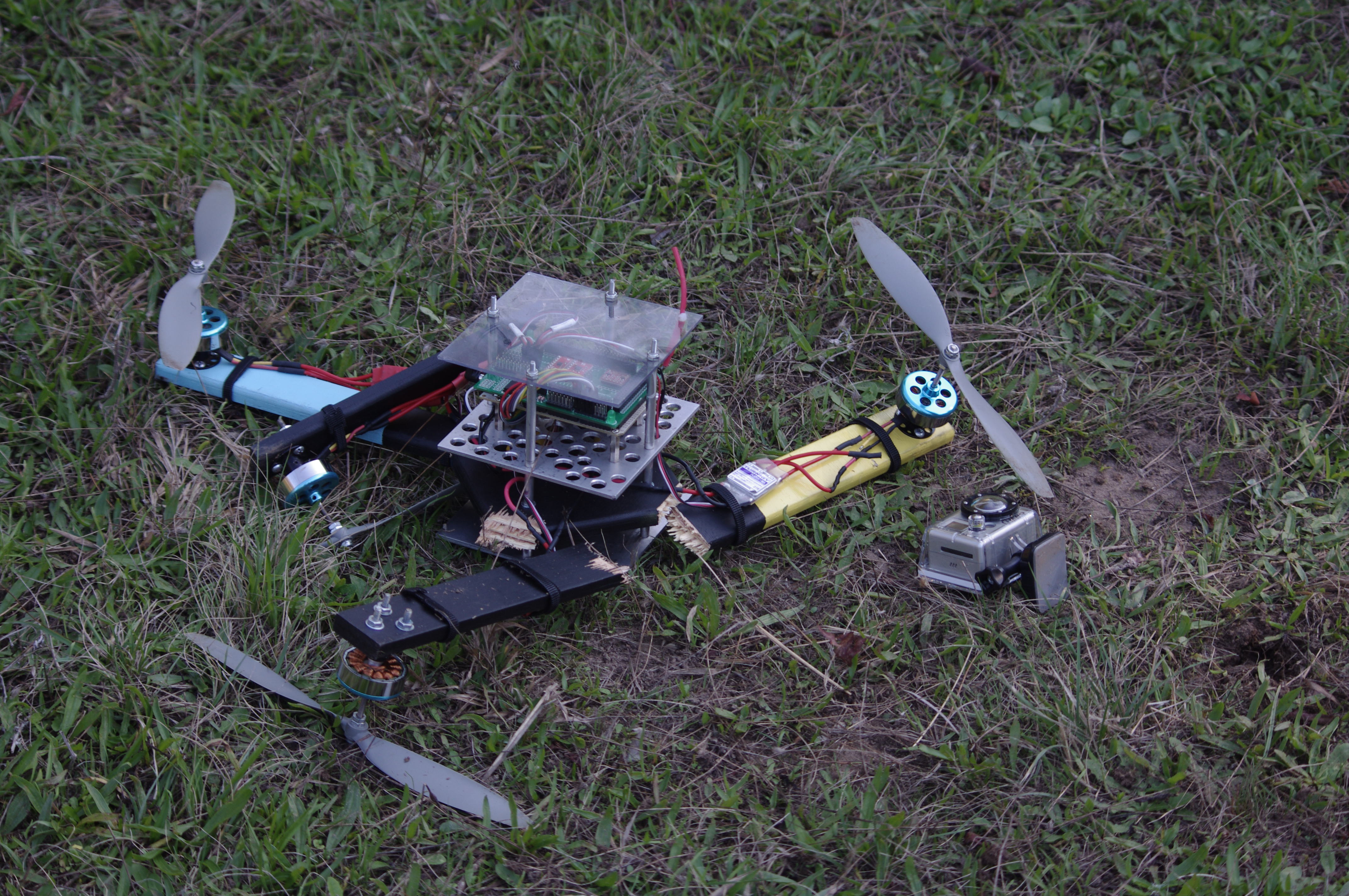 So Most People Have Already Broken The Drones They Got For Christmas broken drone 1