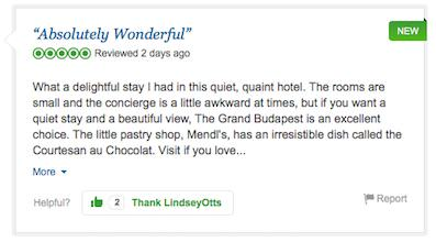 A Fictional Hotel Is Being Reviewed On TripAdvisor budapest6
