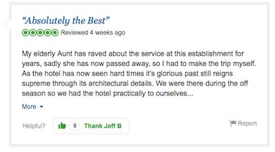 A Fictional Hotel Is Being Reviewed On TripAdvisor budapest7