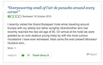 A Fictional Hotel Is Being Reviewed On TripAdvisor budapest9