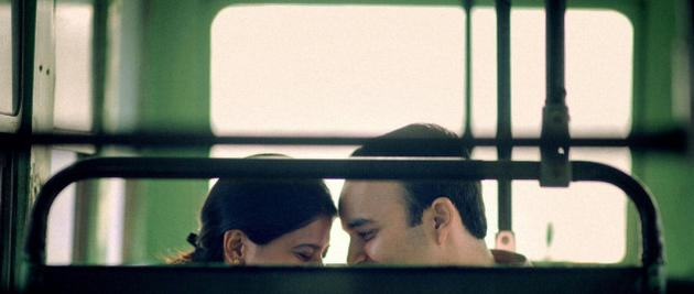 Guys Flirts With Girl He Fancies On Bus, Pays Really High Price bus1