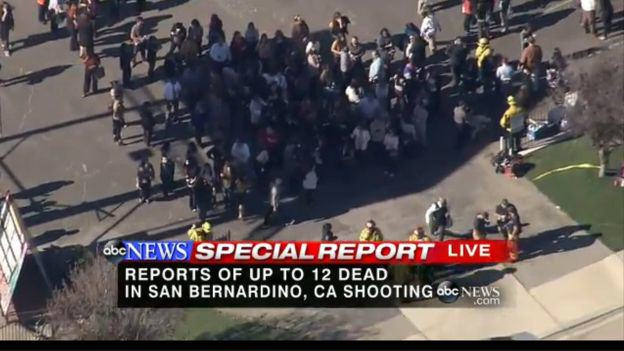 Mass Shooting At Social Services Facility For Disabled People In California california fire 4