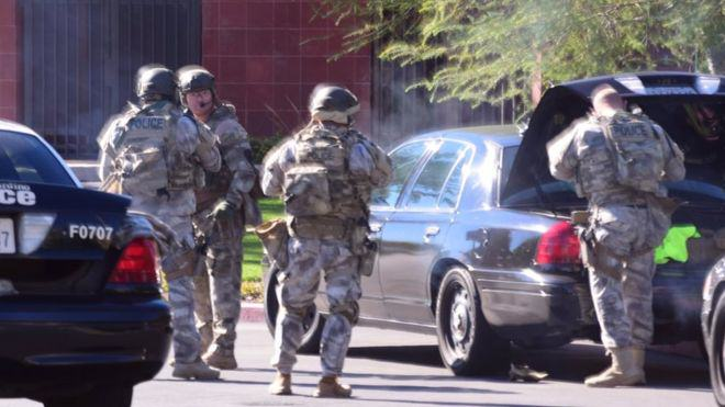 Mass Shooting At Social Services Facility For Disabled People In California california shooting 1