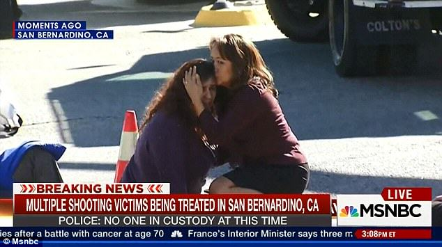 Mass Shooting At Social Services Facility For Disabled People In California california shooting 3