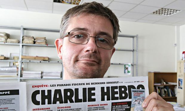 The Cover Of Charlie Hebdo Editors Book Is Incredibly Powerful charlie hebdo 1