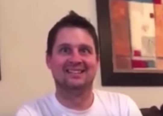 Daughters Hilarious Prank Gift Freaks Her Poor Dad Out dad prank 1 1