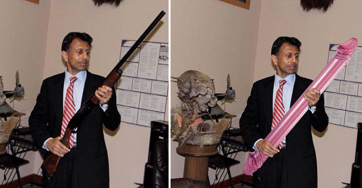 Guns Swapped For Dildos As Man Hilariously Edits Photos Of Republican Politicians dildo2