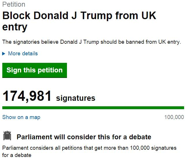 MPs May Be Forced To Officially Debate Banning Donald Trump From The UK donald trump angry 3