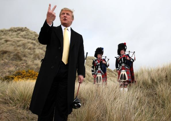 A Lot Of People In Scotland Want Donald Trump Banned From The UK donald trump scotland 1