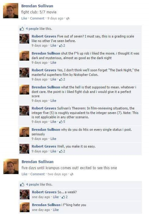 Lad Spends Days Masterfully Trolling His Moronic Mate On Facebook eXHc3VH