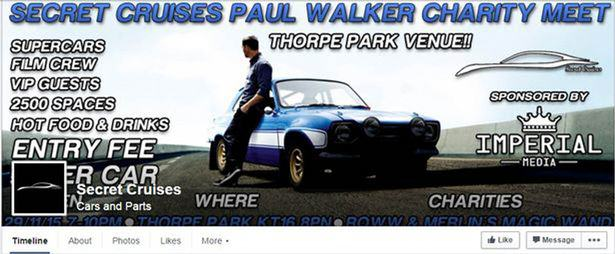 Paul Walker Charity Event Shut Down By Police After 1,700 Drivers Turn Up fb