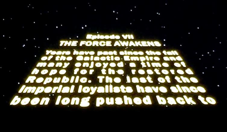 First Two Minutes Of Star Wars: The Force Awakens Has Leaked force3